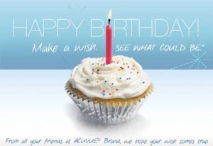 Acuvue Birthday E-Card